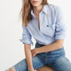 Abercrombie & Fitch Icon poplin shirt